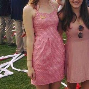 Nanette Lepore Pink Patterned Dress Size 0